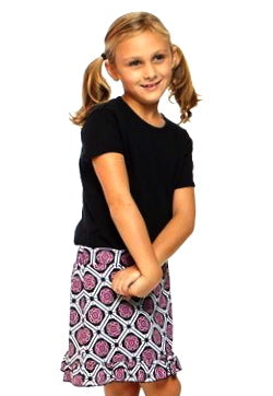 Women's Golftini Girl Starstruck Junior Pull-On Tech Skort