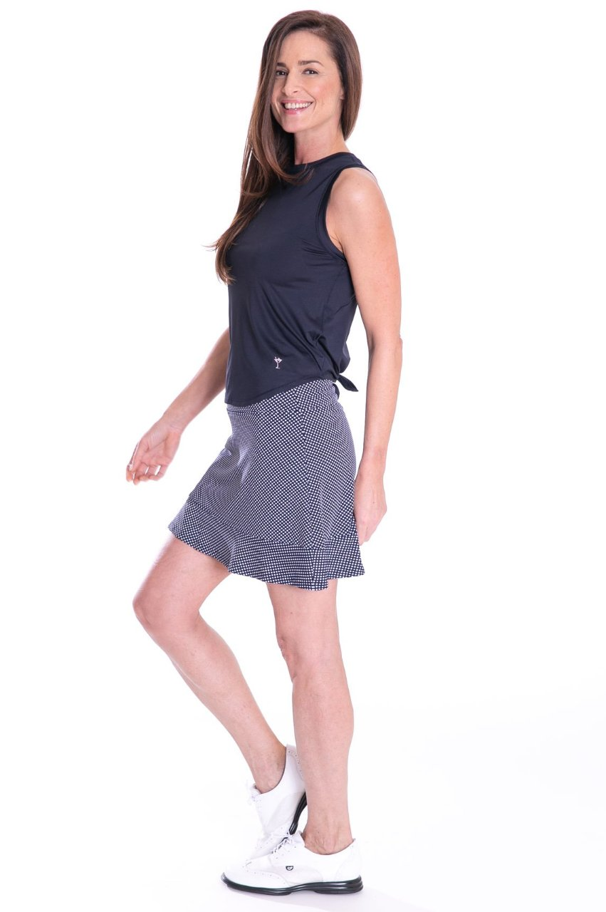 NEW! Sport Tech Tie Top - Navy