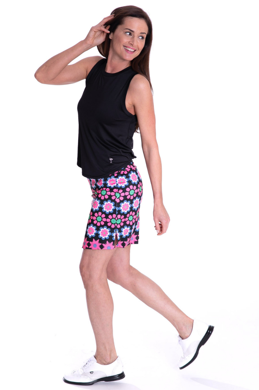 Pull-On Stretch Skort | Go Getter