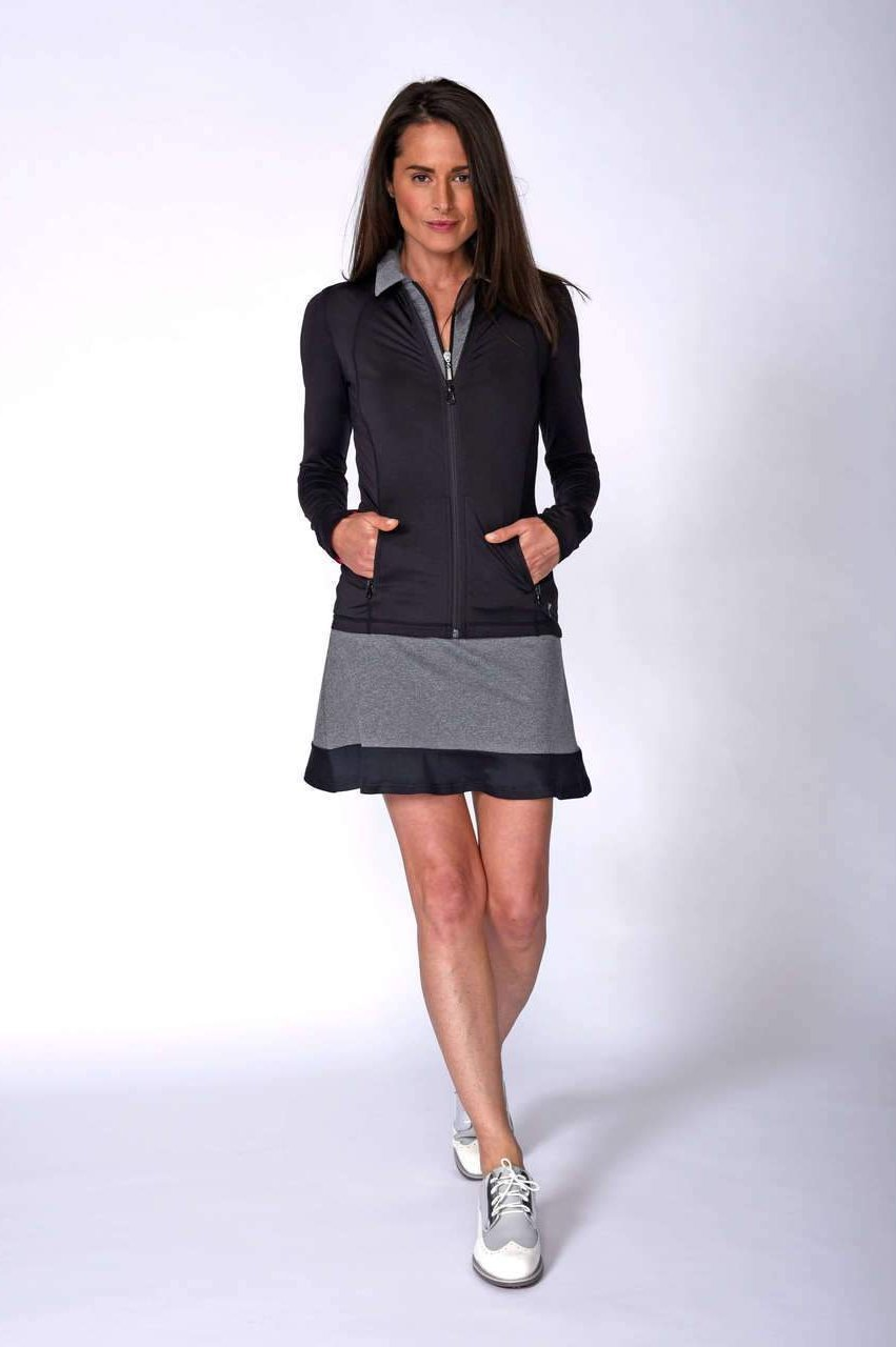 Women's Spontaneous Pull-On Tech Skort - Heather Grey