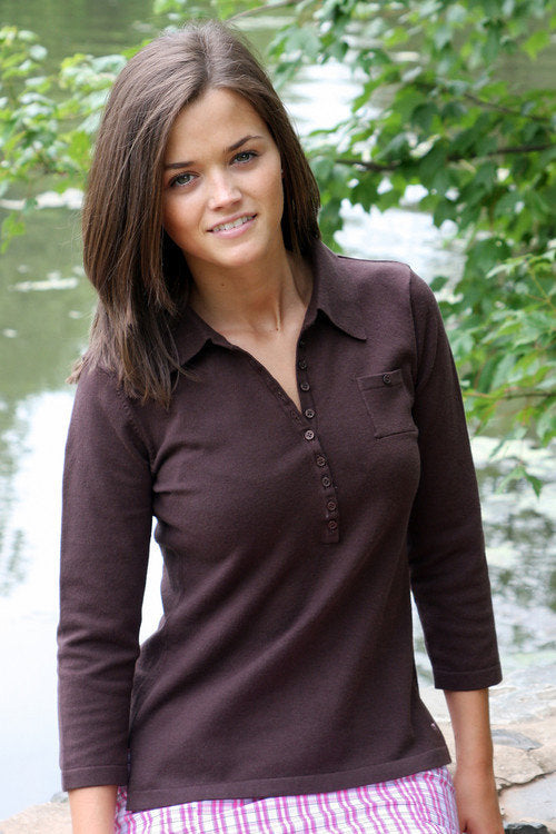 Golftini Brown Sweater