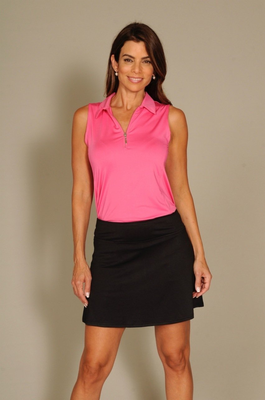 Women's Bora Bora Black Pull-On Tech Skort