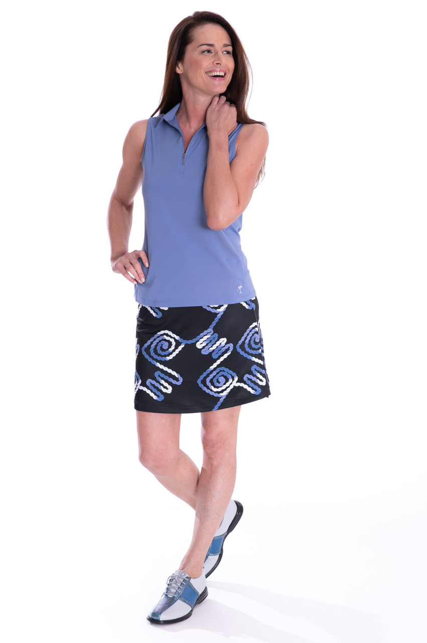 NEW! All Nighter Pull-On Tech Skort