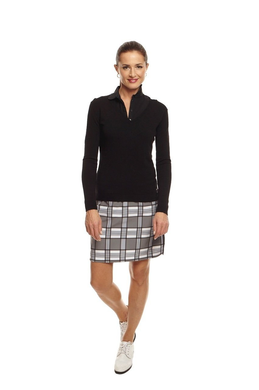 Women's Passionate Plaid Performance Skort
