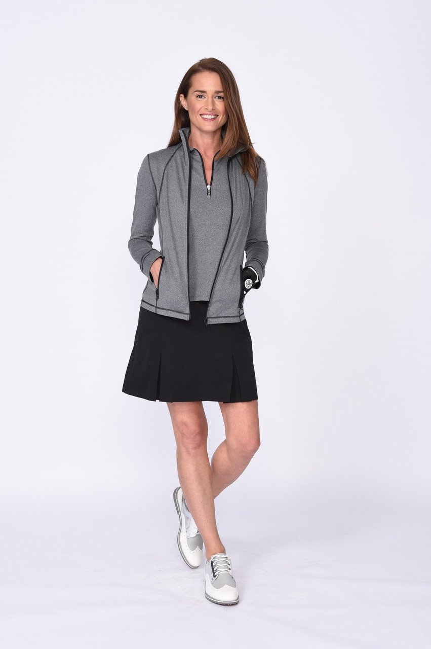 Women's Black Performance Pleat - Shark Tank
