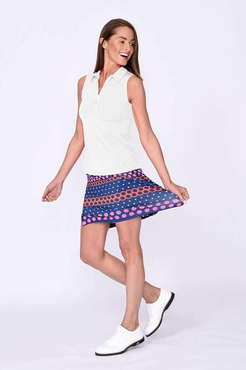 Best Ball Polka Dot Pull-On Tech Skort