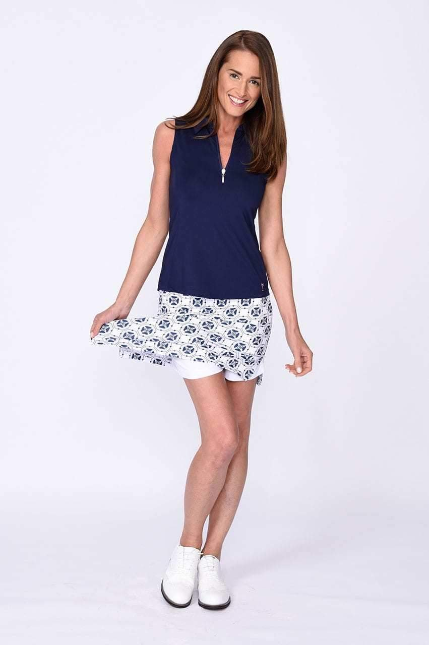 Circle of Love Pull-On Tech Skort