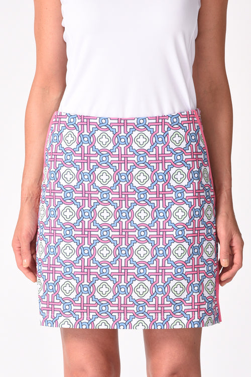 Colorful Performance Stretch Skort | Candy Land | Available in 2 Lengths