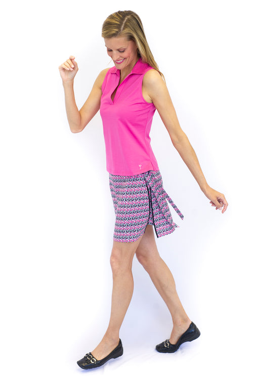 Performance Stretch Wrap Skort | The Golftini