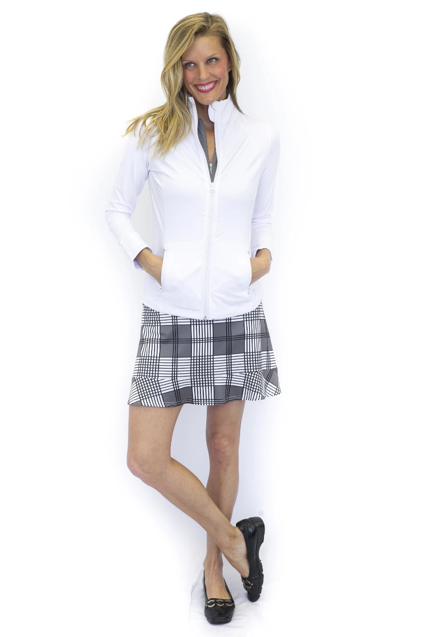 NEW! Greyhound Pull-On Ruffle Tech Skort