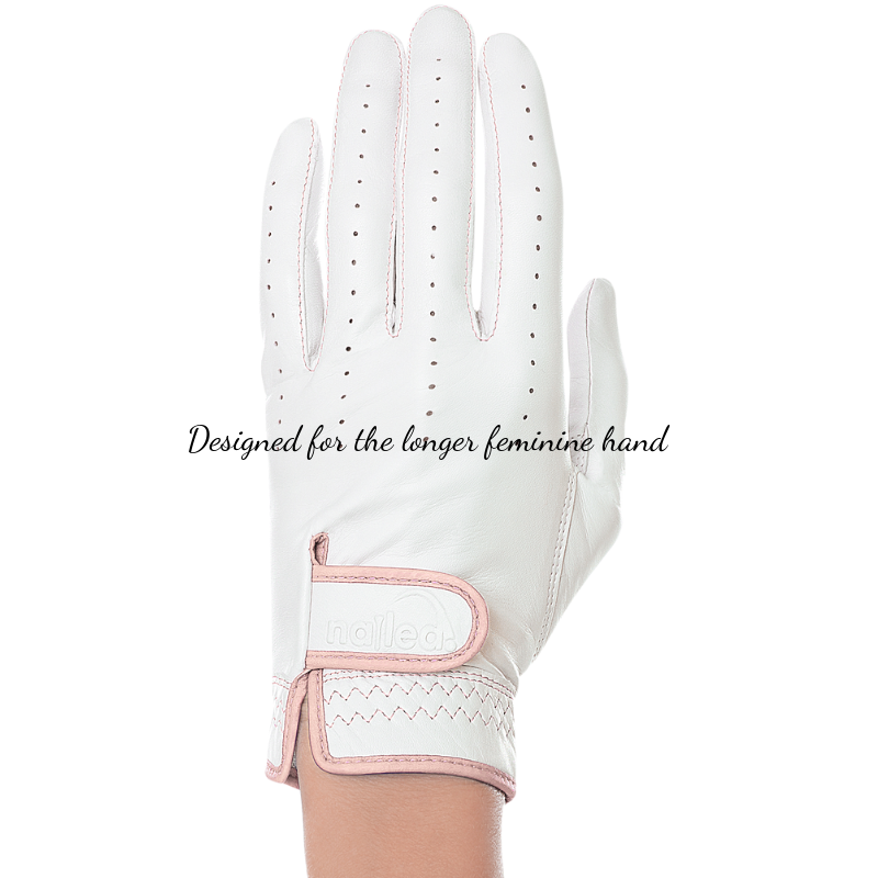 Nailed Golf Gloves Elegance Collection – Blush