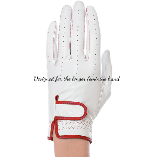 Nailed Golf Gloves Elegance Collection - Scarlett