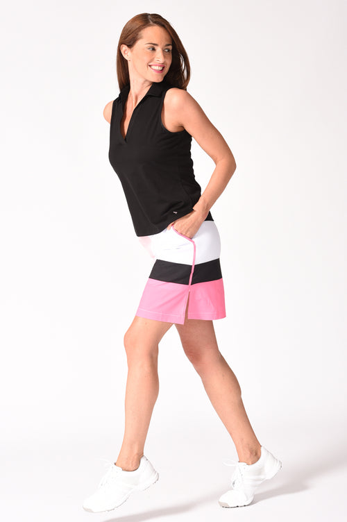 Designer Squares Performance Stretch Skort | Four Square