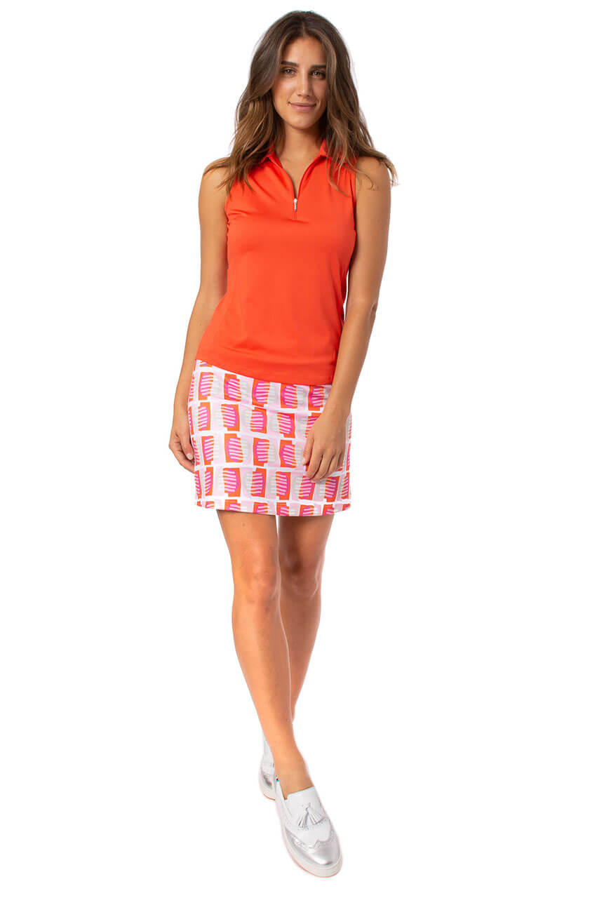Multicolor Pull-On Stretch Skort | Dreamsicle
