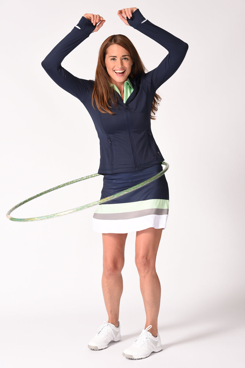Hula Hoop Pull-On Ruffle Tech Skort