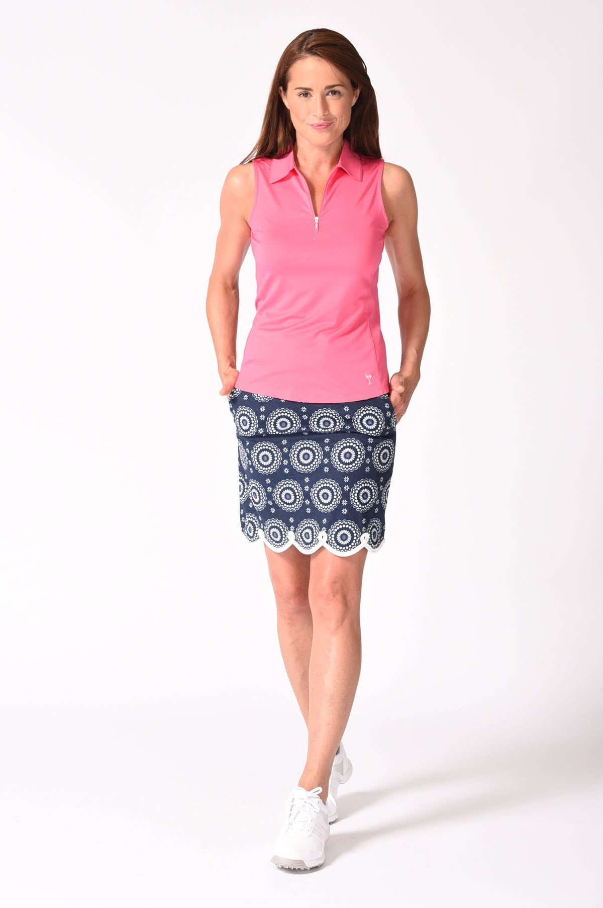 Jump Rope Stretch Cotton Skort (Comes in 2 Lengths)