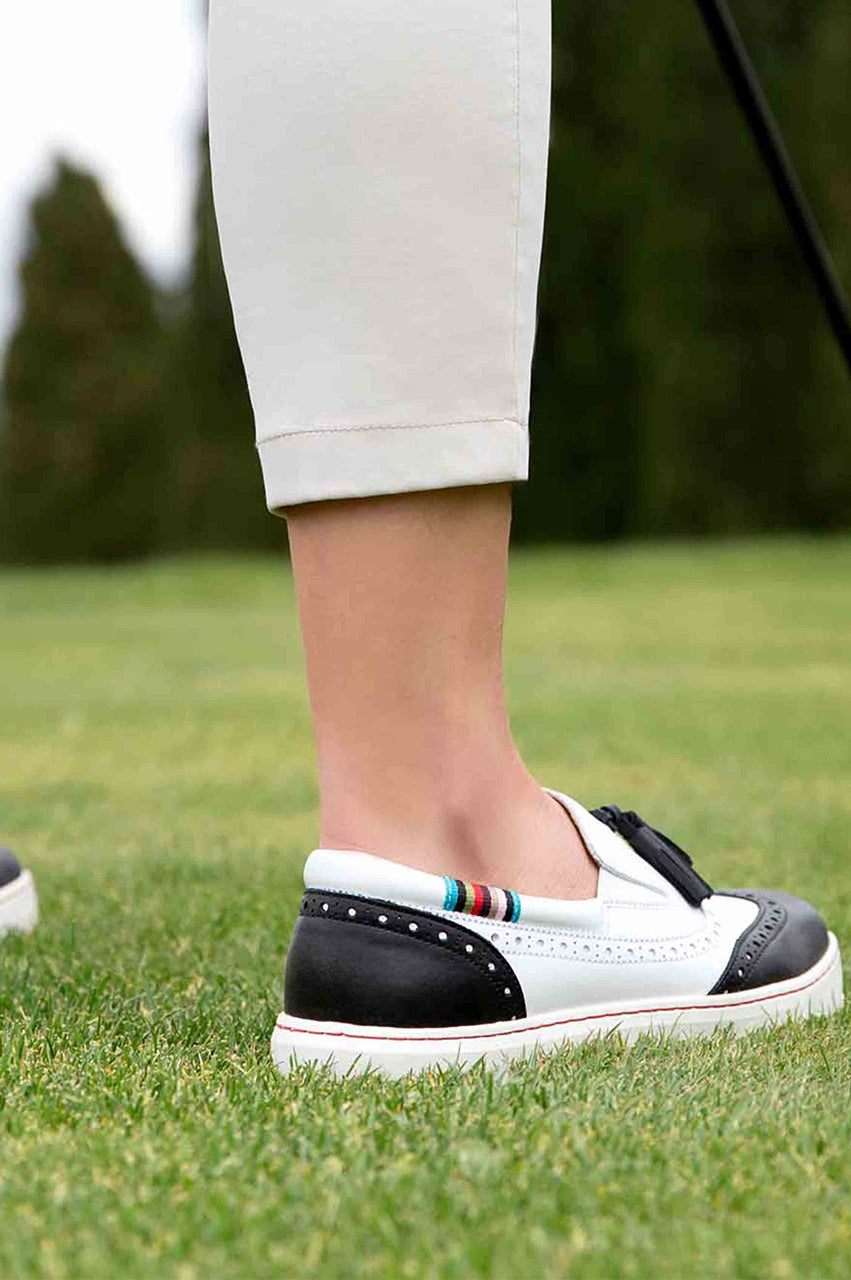 Women's Royal Albartross Golf Shoes | The Grace Black