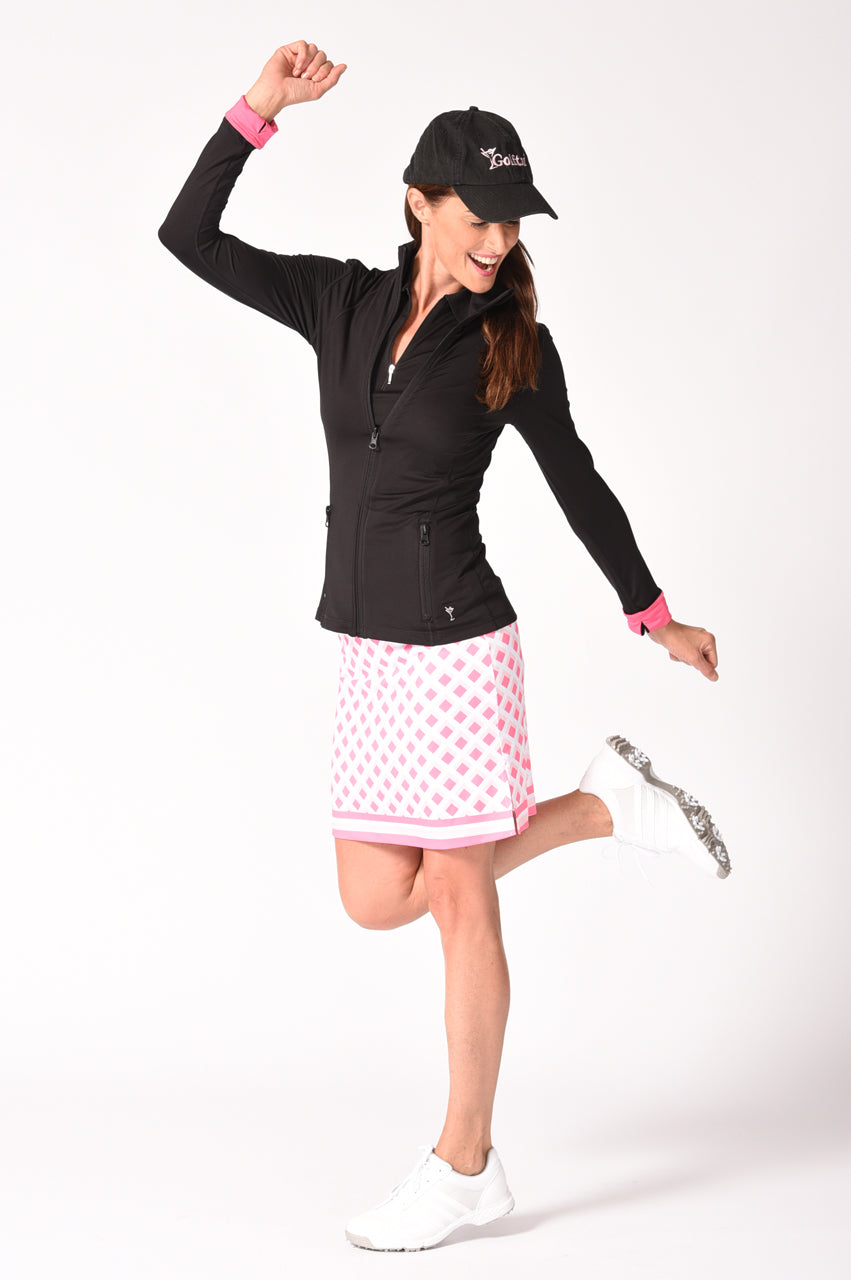 NEW! Tic Tac Toe Pull-On Tech Skort