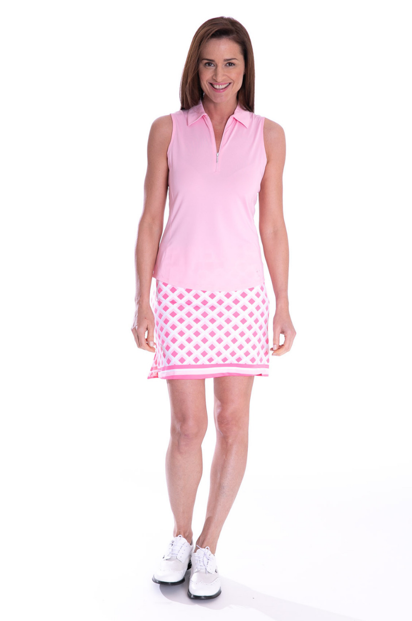 Tic Tac Toe Pull-On Tech Skort