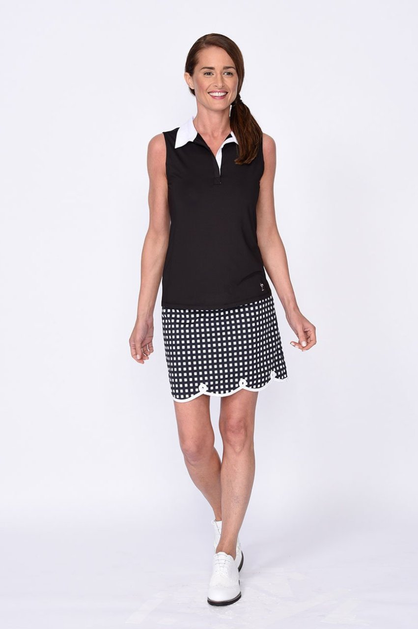 The Ace Stretch Cotton Skort (Comes in 2 Lengths)