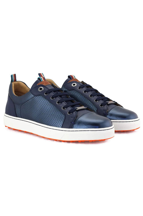 Women's Royal Albartross Golf Shoes | The Almafi Navy