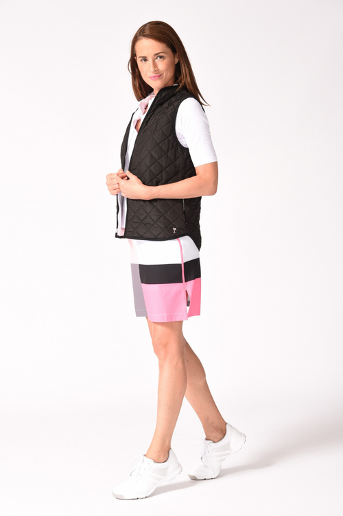 Reversible Wind Vest - Black / White