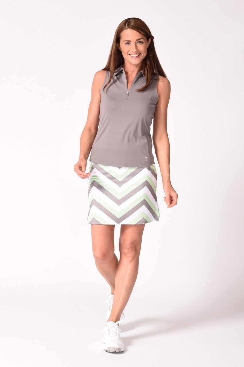 Pull-On Stretch Skort | Chutes and Ladders
