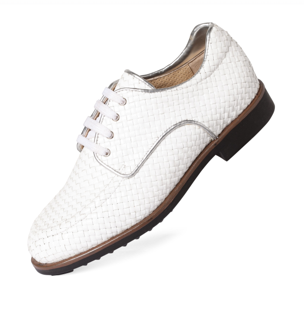 Women's Aerogreen Golf Shoe - White Iseo