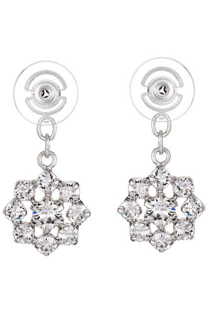 Round Fireworks | Duchess Collection Earring Jackets with Swarovski Crystals