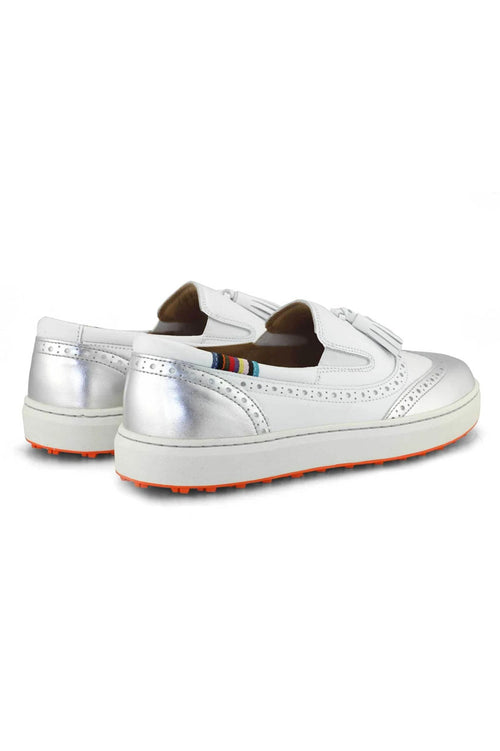 Women's Royal Albartross Golf Shoes | The Grace Silver