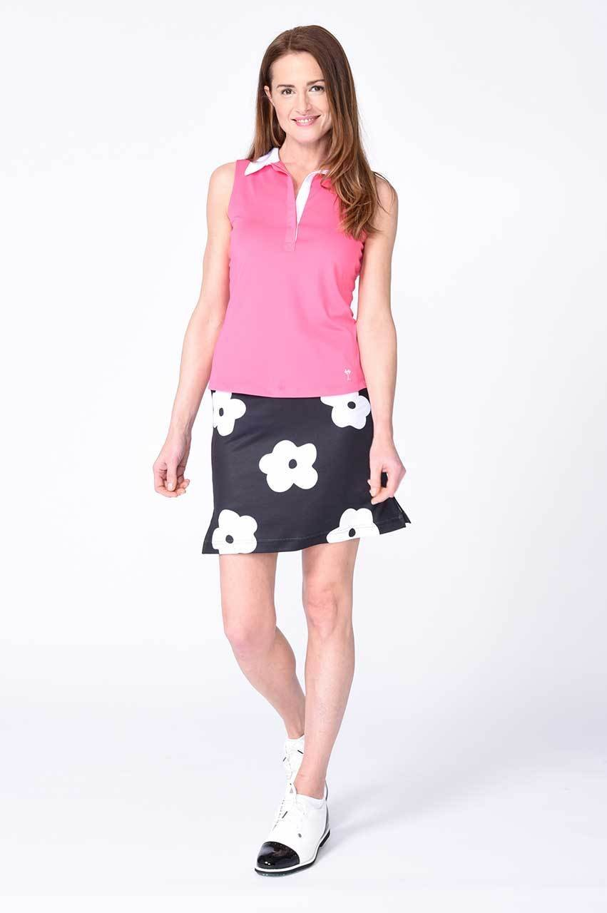 Floral Pull-On Stretch Skort | Madonna