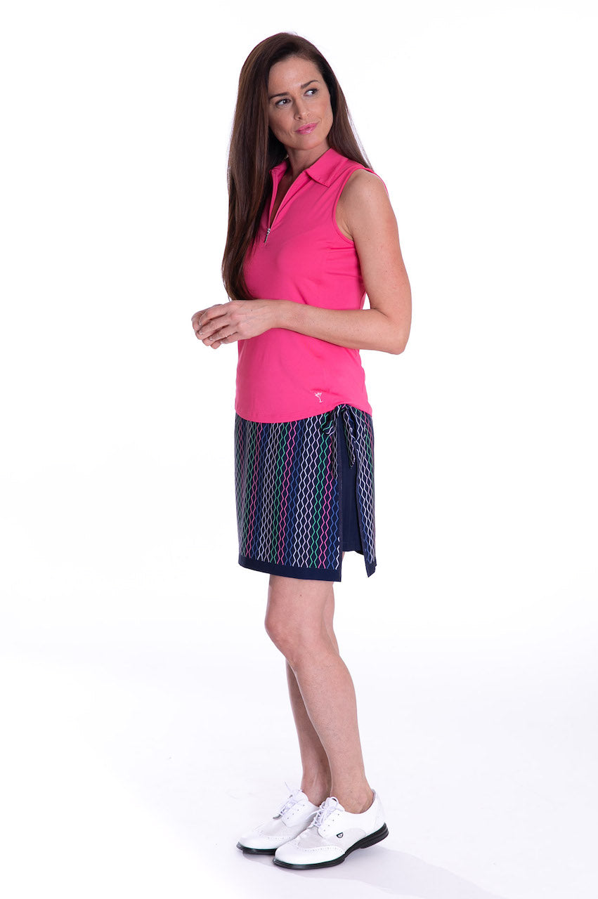 Multicolor Performance Stretch Skort | Partner In Crime