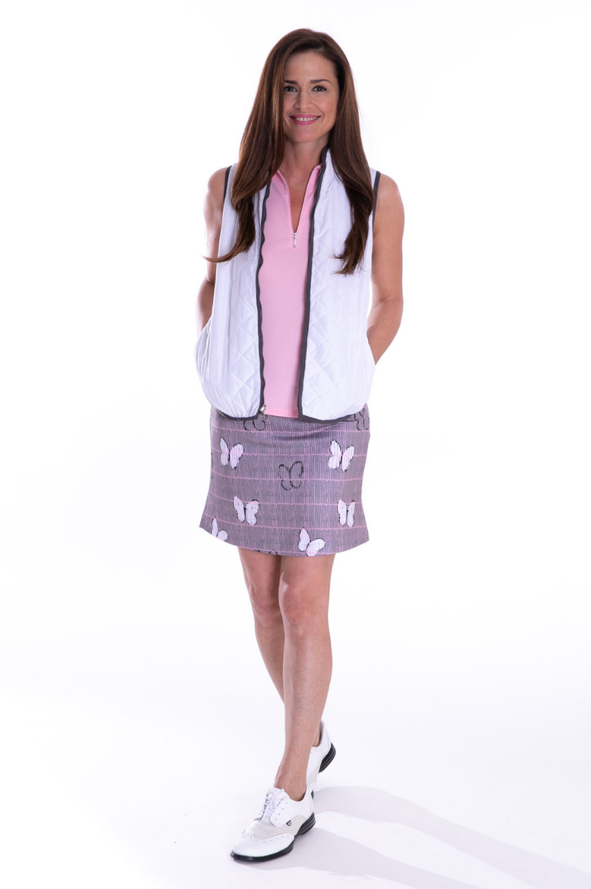 NEW! Social Butterfly Pull-On Tech Skort