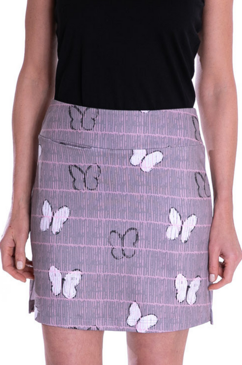 Pull-On Stretch Skort | Social Butterfly