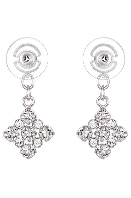 Square | Duchess Collection Earring Jackets with Swarovski Crystals