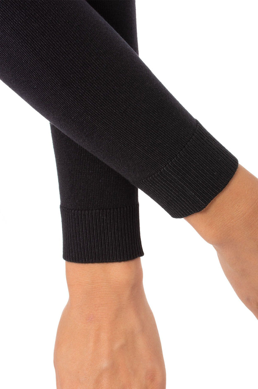 Black Long Sleeve V-Neck Sweater