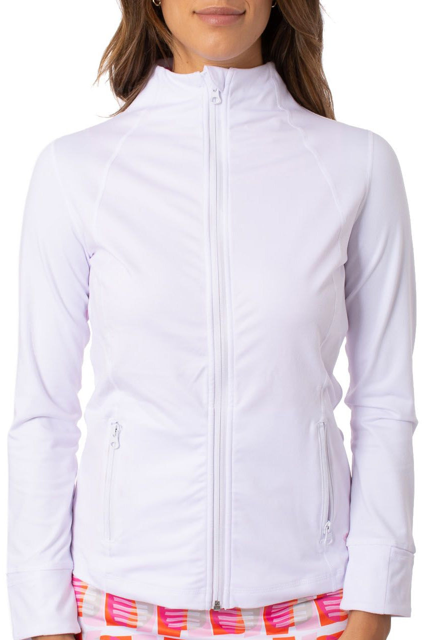 White Buttery Soft GT Tech Jacket