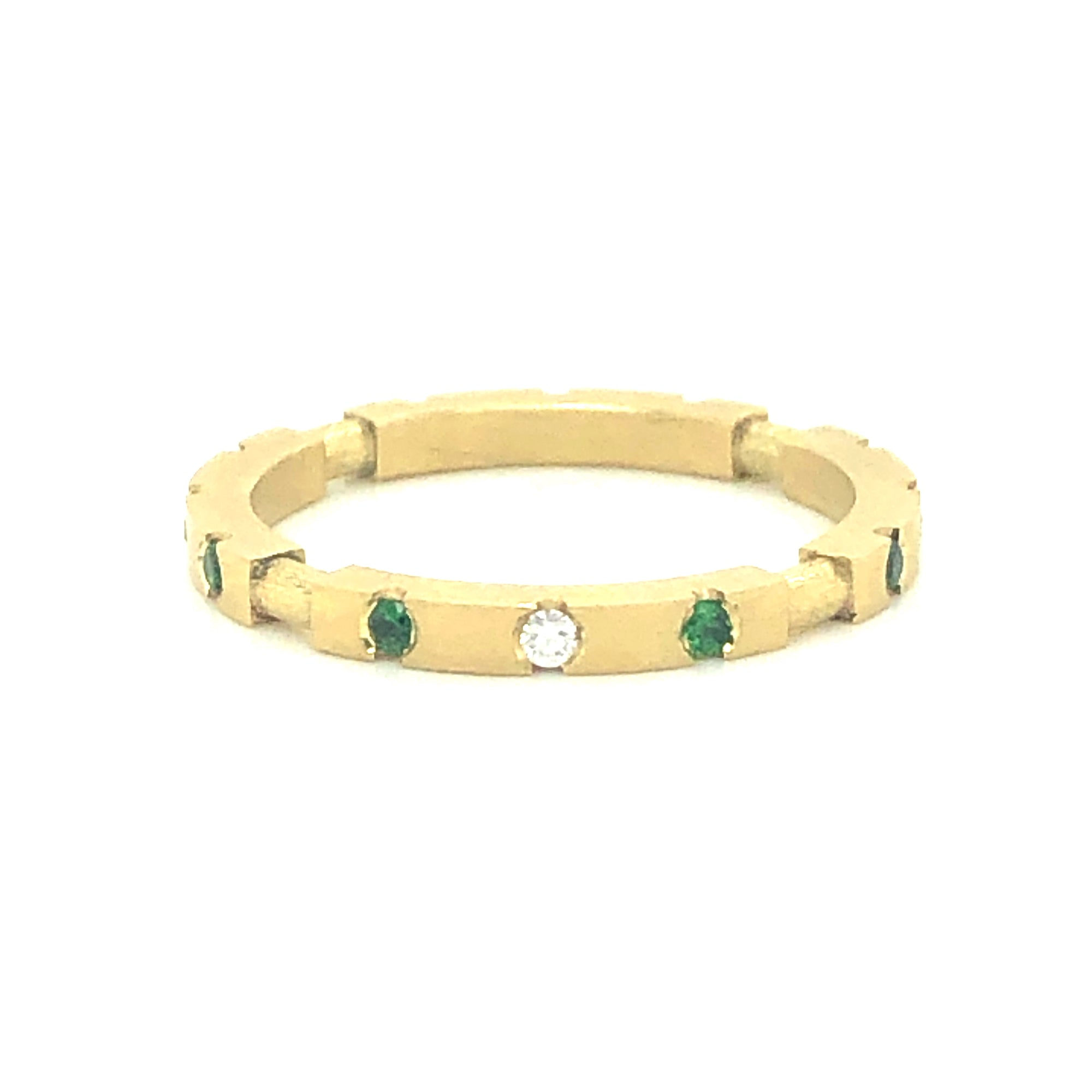 Tsavorite Stackable Ring