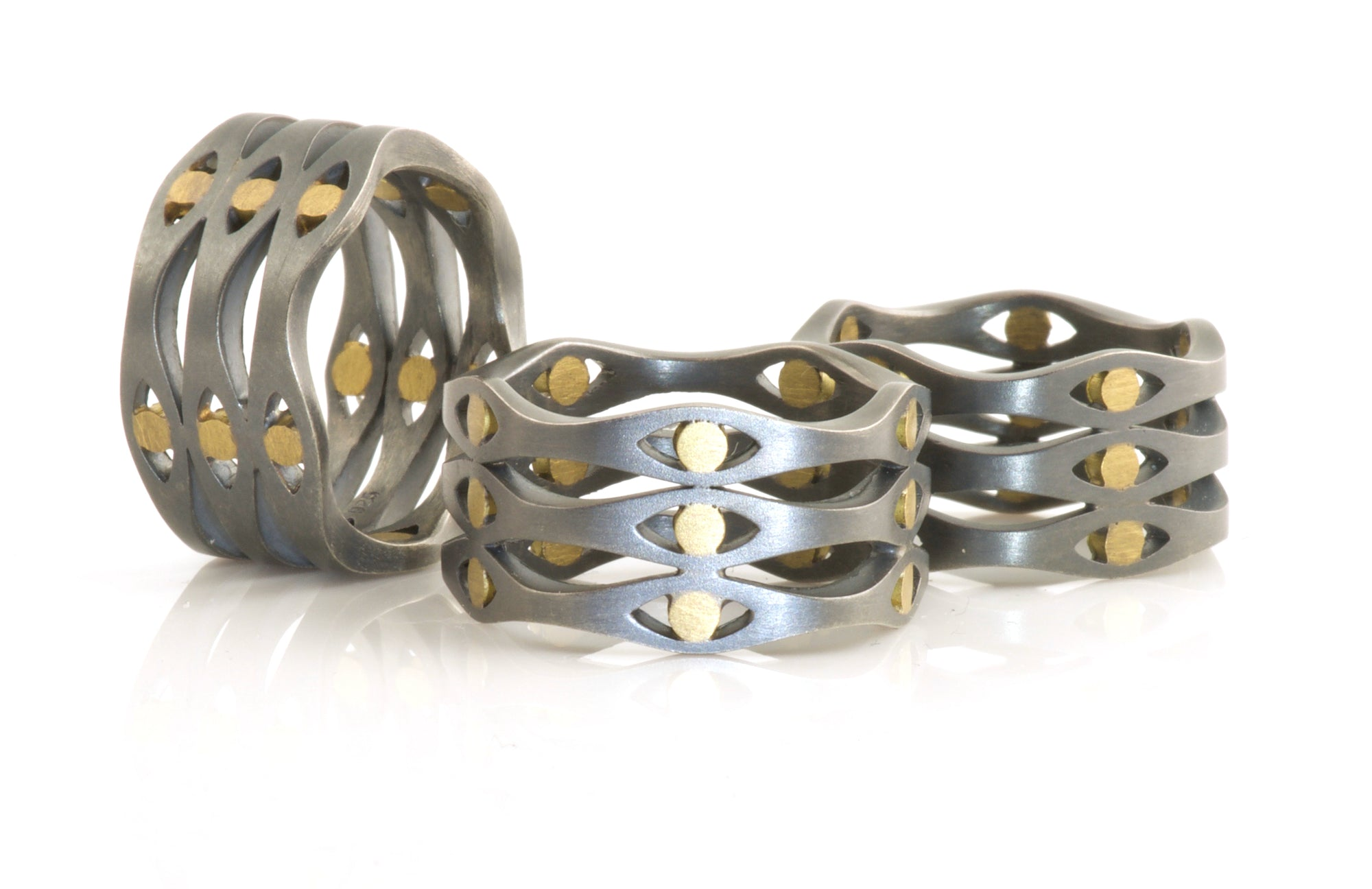 Medium 3 stack ring