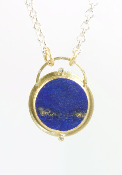 Natural Surface Lapis Necklace