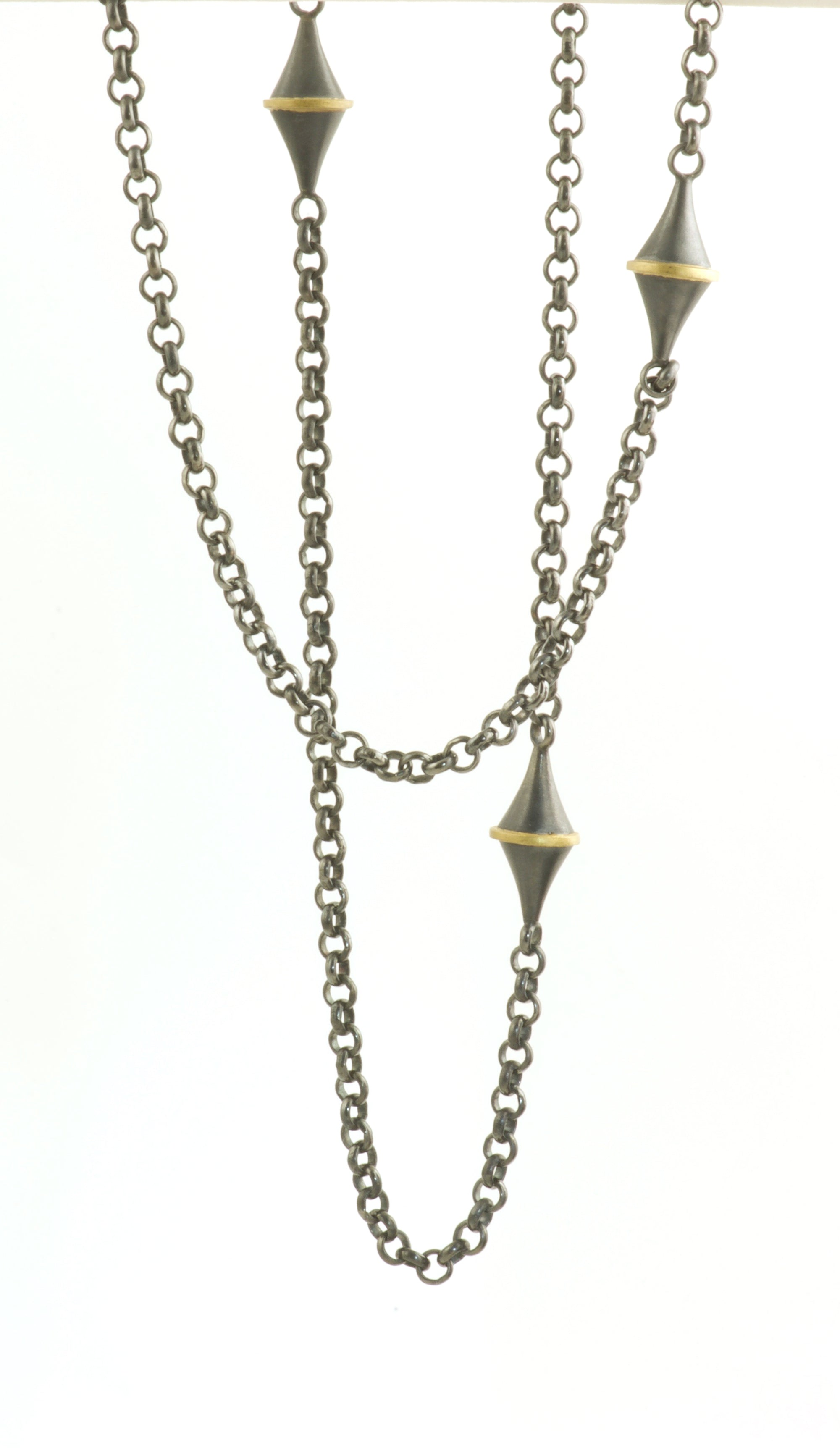 Cone Station Necklace