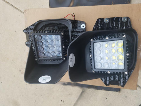2011 2012 2013 2014 2015 2016 FORD SUPERDUTY FOGLIGHT F250 F350 5.5 inch WORK LIGHT KIT