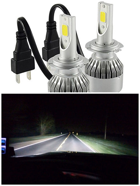 LED Headlight foglight kit 5202/H16 Fanless - OffroadLEDbars