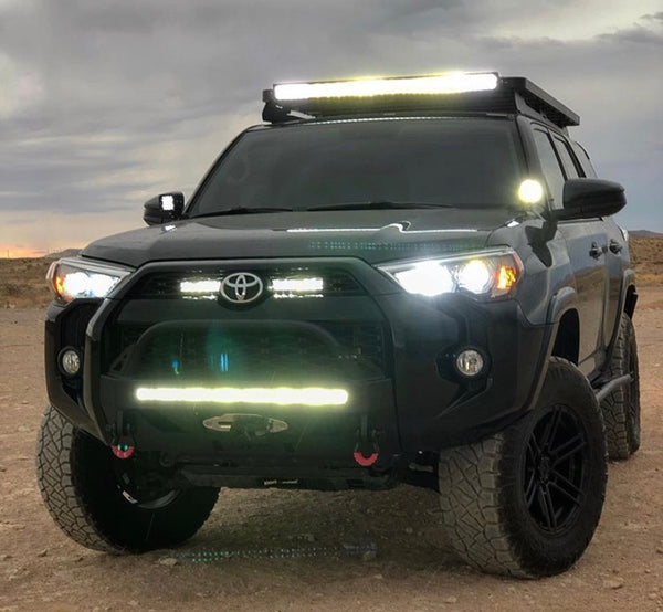 4runner toyota lights led fog headlights 2009 low