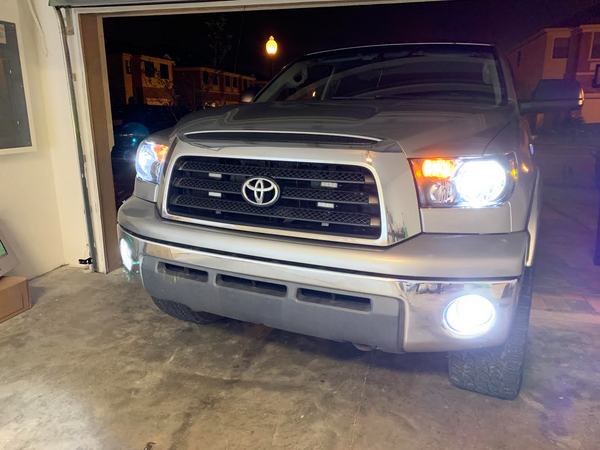 2007-2013 Toyota Tundra LED Headlights High, Low, Fog Lights - OffroadLEDbars