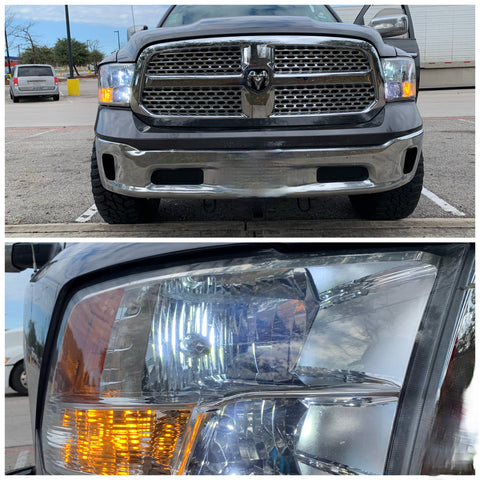 2009-2020 Dodge Ram 1500 2500 3500  LED Headlights High, Low, Fog lights - OffroadLEDbars