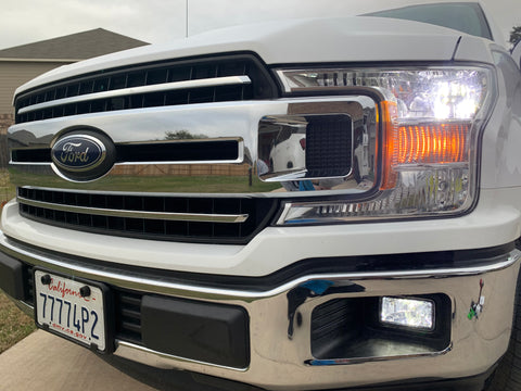 2014-2019 Ford F-150 High, Low , and Fog LED lights - OffroadLEDbars