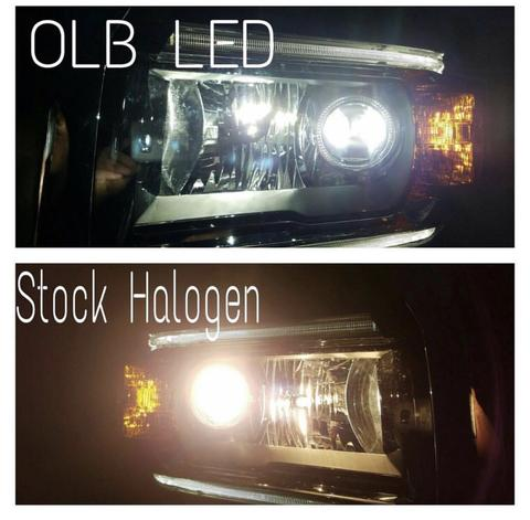 LED Headlight kit 9140/9145 bulbs fanless - OffroadLEDbars