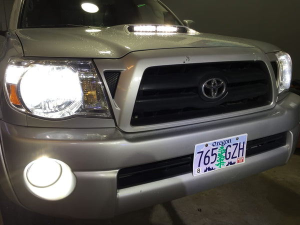 2004-2015 Toyota Tacoma LED Headlights High/Low and  Fog lights