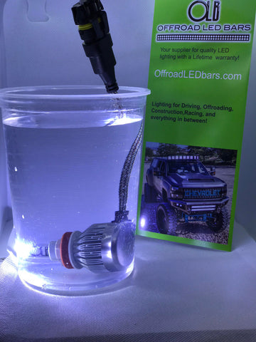 LED Headlight kit 9003 bulbs - OffroadLEDbars